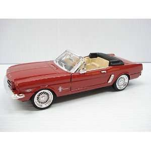 Sunnyside Die Cast 1964 1/2 Ford Mustang 1/24 Scale   Red
