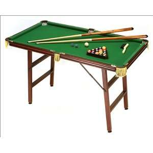 Foldable 4 Mini Pool Table with all Accessories  Sports