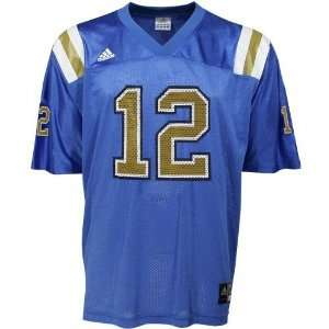 adidas UCLA Bruins #12 Youth Light Blue Replica Football Jersey