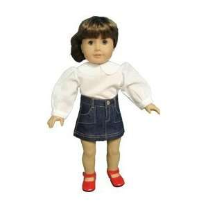 Toy American Girl doll clothes Round Collar American Girl dolls