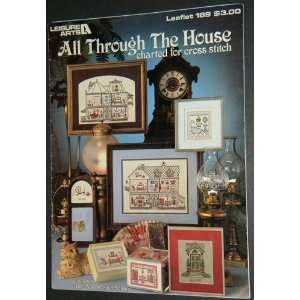 THE HOUSE CHARTED FOR CROSS STITCH BOOKLET 189 LEISURE ARTS Anne
