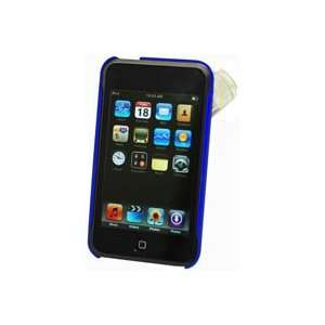 APPLE IPOD TOUCH BLUE HARD CASE Cell Phones & Accessories
