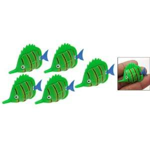 Como Stripe Fish Aquarium Tank Plastic Floating Ornament 5