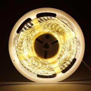 White 5M 600 LED 3528 SMD Flexible Car DIY Strip Light Automotive