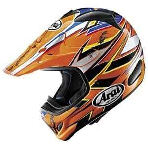 Arai VX Pro III Barbed Wire Helmet   Large/Orange