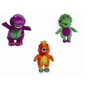 Barney Mini Pals Gift Set Barney, Riff, & Baby Bop  Toys & Games