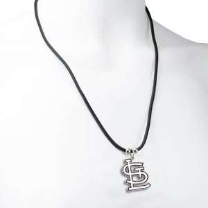 St. Louis Cardinals Logo Pendant Necklace   MLB Baseball