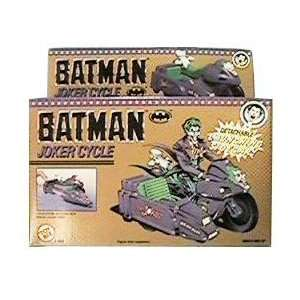 Batman 1989 Joker Cycle with Detachable Launching Sidecar Toys