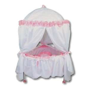 Rounded Canopy Doll Bed: Toys & Games
