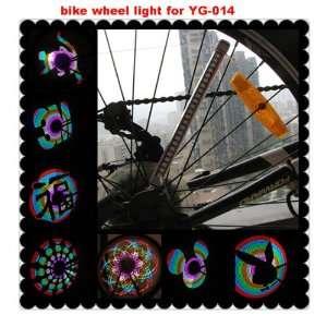2012 newest led bicycle wheel light Programmable spoke light for bike