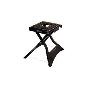 FOLDING X LIFT STAND BLACK DIRT BIKE DIRTBIKE MOTOCROSS MX