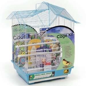 Double Roof Bird Cage Kit Pet Supplies