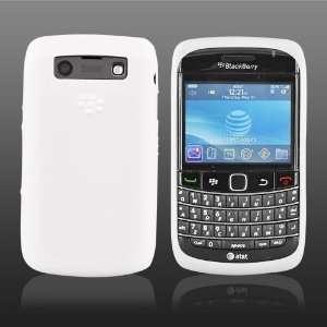 OEM Blackberry Bold 9700 Silicone Skin Case White + LCD