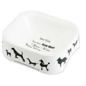Designer Bowls Silhouettes Large Black & White:  Kitchen