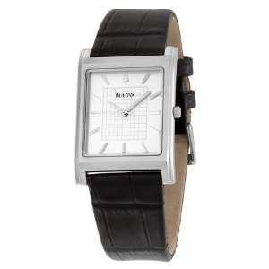 Bulova Mens 96A23 Dress Strap Watch Bulova Watches