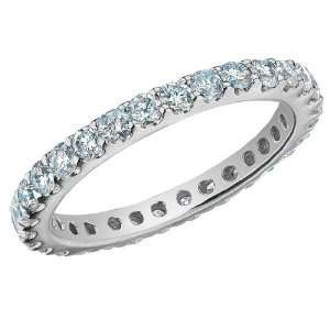 Eternity Diamond Wedding Band and Anniversary Ring 1.0 Carat (ctw) in