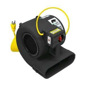 B Air Grizzly Air Mover / Floor & Carpet Dryer   1/3 HP