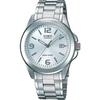Casio Mens MTP1215A 7A Silver Stainless Steel Quartz Watch with