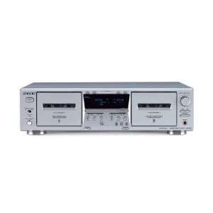 Sony TC WE475   Dual cassette deck   silver Electronics
