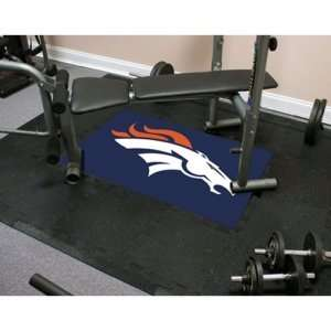 Denver Broncos NFL Team Fitness Tiles