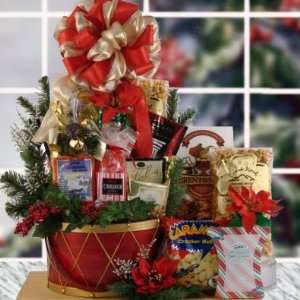 Holiday Dream Holiday Christmas Gift Basket Everything