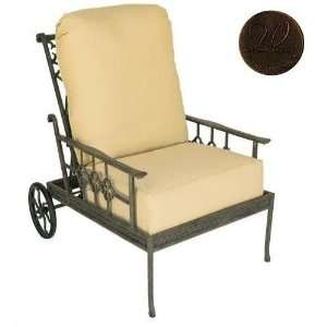 Back Reclining Club Chair Frame Only, Spice Patio, Lawn & Garden