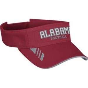 Alabama Crimson Tide Adidas NCAA Coaches Visor  Sports