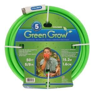 50 Green Grow Eco Friendly Water Hose Patio, Lawn & Garden