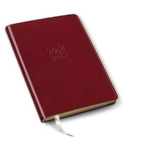 Gallery Leather Red Leather Desk Weekly Mid Year Planner