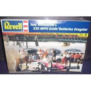 7674 Revell Tony Schumachers 330 MPH Exide Batteries NHRA Dragster 1