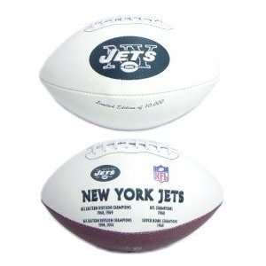 York Jets NFL Embroidered Signature Series Football