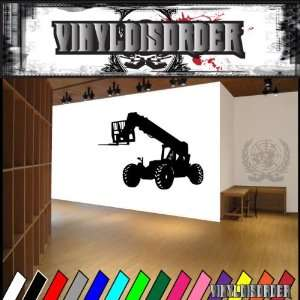 Vehicles Forklift NS009 Vinyl Decal Wall Art Sticker Mural