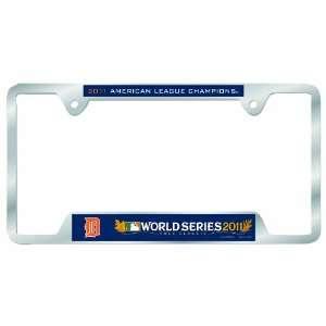 Detroit Tigers 2011 American League Champion Metal License Plate Frame