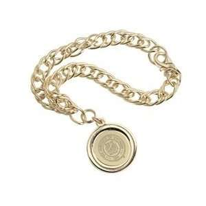 Wyoming   Charm Bracelet   Gold
