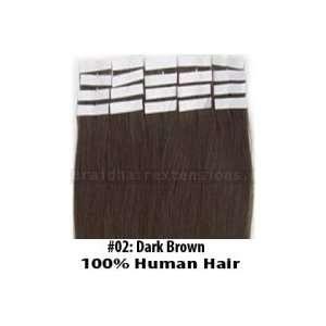 Dark Brown Tape In Hair Extensions Beauty