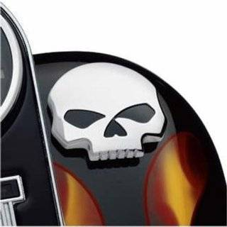 Harley Davidson Willie G Skull Fuel Cap Cover Medallion 99669 04