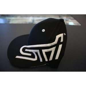 SUBARU STI FLAT BILL CAP HAT Automotive