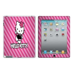 Hello Kitty Stripes Vinyl Adhesive Decal Skin for iPad 2 Cell Phones
