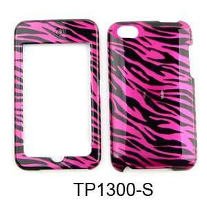 Apple Ipod Touch 4th Generation Hot Pink Zebra 2D Design