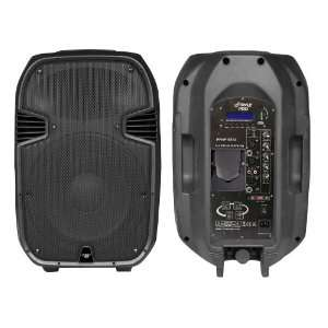 Portable Powered 2 Way Full Range PA Speaker with Built in iPod Dock