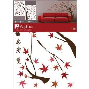 Huge Japanese Maple Tree Wall Mural Decal Stickers