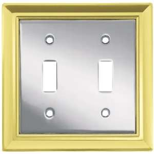 Liberty Hardware 64206 Architectural Double Switch Wall Plate