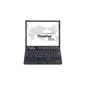 ThinkPad X61s 12.1 Notebook PC. Intel Core 2 Duo L7500 LV (1.6GHz), 1