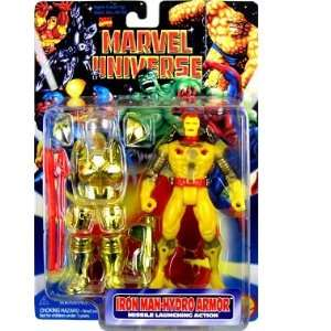 Marvel Universe  Hydro Armor Iron Man Action Figure Toys
