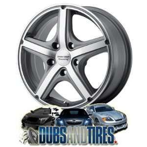 RACING PERFORM wheels MAVERICK Anthracite w/Machined Face wheels rims