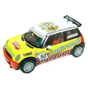 Scalextric 132 Slot Car Mini Cooper NZ G. Dawson C2773 Toys & Games