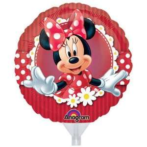 9 Inch Minnie Mouse EZ Air Fill Balloons   3 Count Toys