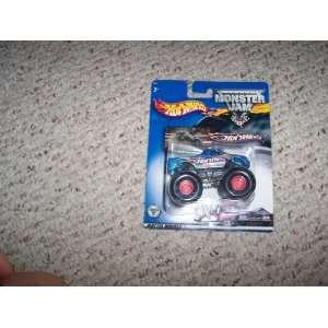 Hot Wheels Monster Jam Blue Hot Wheels Truck Toys & Games