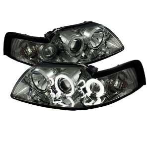 1PC CCFL SM Ford Mustang Smoke CCFL Projector Headlight Automotive