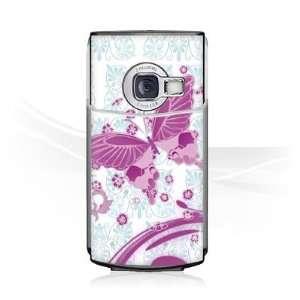 Design Skins for Nokia N70   Pink Butterfly Design Folie